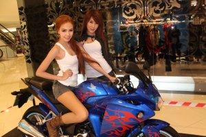 CBR Thailand + gadis setempat