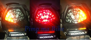 Rear lamp LED 3 in 1 for CBR 250R