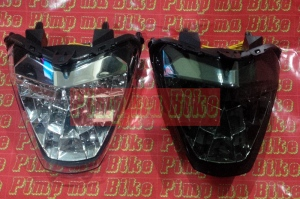 Stoplamp LED 3in1 clear&smoked for CBR150&250R CBU&Lokal PNP