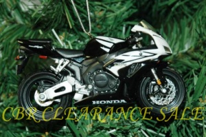 Honda CBR Christmas ornament