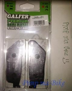 Kampas rem depan Galfer cbr250 non-abs box depan