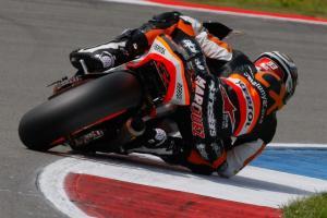 Marc Marquez Honda MotoGP saat cornering