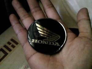 Emblem Moge Honda Wing (silver)