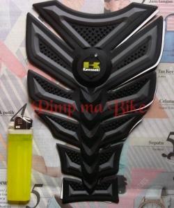 Tankpad 3D premium Kawasaki - black grey