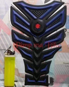 Tankpad 3D premium Suzuki - black blue