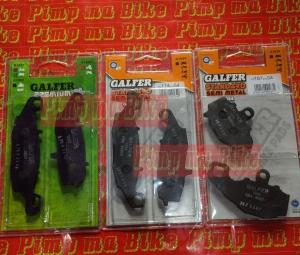 Kanvas rem Galfer Ninja ER6N, ER6F (Ninja 650)&Versys 06-14. FULL SET Rp1.370.000 (depan @Rp500.00 x 2 dan belakang @Rp370.00)