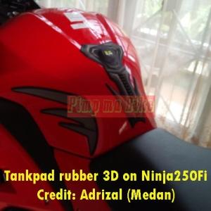 Tankpad 3D Kawasaki di Ninja250Fi_2