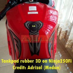 Tankpad 3D Kawasaki di Ninja250Fi_3