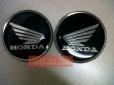 Emblem Honda Wing keluaran PMB. Perfect&mewah. Bahan dasar stainless dilapisi resin. Tulisan dan logo 3D berwarna silver. PRICE: Rp110.000,- sepasang.