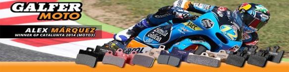 Alex Marquez with Galfer. Moto3 GP