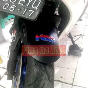 Emblem 3D HRC - front fender
