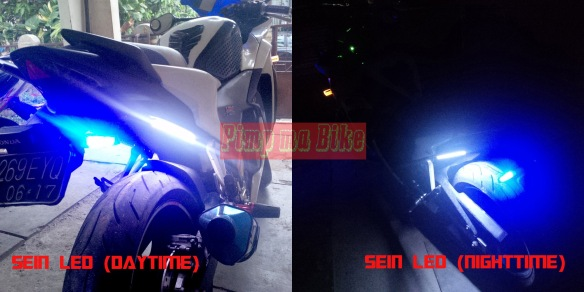 Modifikasi sein LED (day&night)