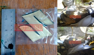 Emblem kuningan+coating resin 3D Suzuki gold. - Price: Rp200.000 (1 set sepasang)