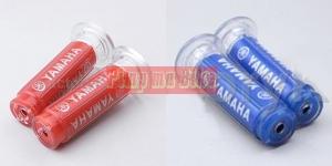 Handgrip Rubber Gel Yamaha blue and red - Rp200.000,- (sepasang)