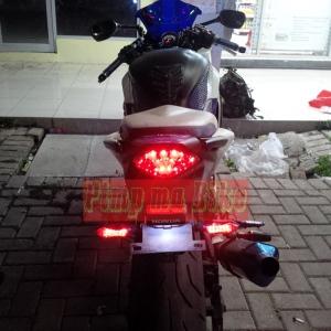 Lampu sein belakang LED tancap universal integrated_top look
