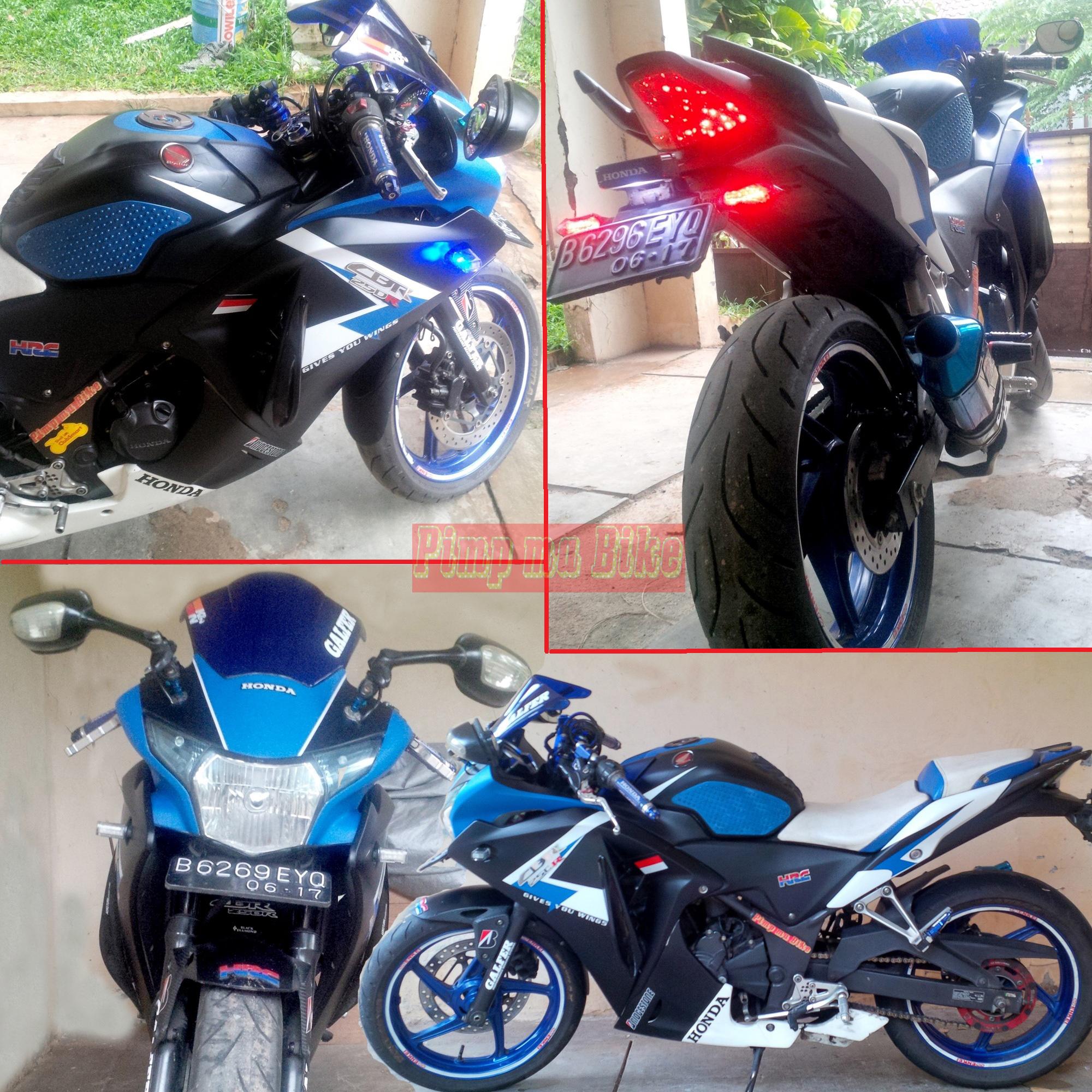 Pilihan Modifikasi Honda CBR 150R 250R New 2014 By Pimp Ma Bike