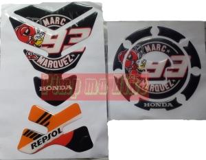 Tankpad set Honda Repsol MM93_black
