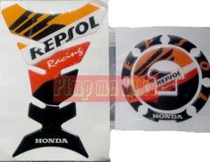 Tankpad set Honda Repsol