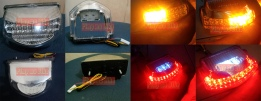Tail light LED 3in1 clear for CBR600RR 07-12 - Rp800.000