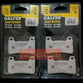 Kanvas/kampas rem depan Galfer CBR 1000RR Fireblade_Sintered ULTIMATE PERFORMANCE HH. PRICE - Rp1.300.000 (2 set dobel cakram depan).