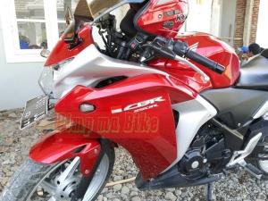 Sein tanam LED untuk CBR CBU Thai_terpasang manis di CBR250R merah