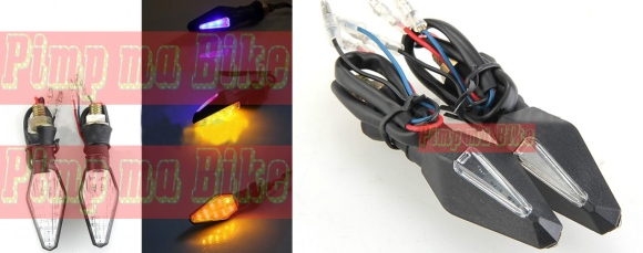 Sein tancap LED 2in1 double LED PNP Universal. PRICE: Only Rp130.000 per set (sepasang).