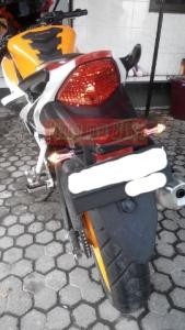 Sein tancap mini led 3 in 1 terpasang di CBR K45