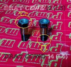 Adapter baut spion 12 (L5) ke 14 (L6)
