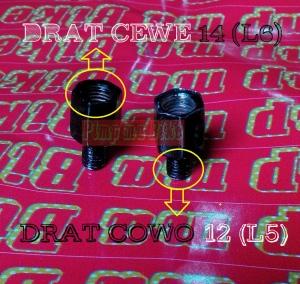 Adapter baut spion 14 (L6) ke 12 (L5)