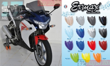 Aneka pilihan windshield racing ERMAX CBR250R