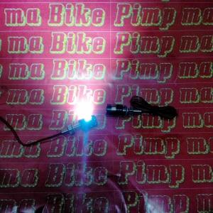 Baut lampu senja LED nopol_contoh menyala