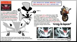 Manual pemasangan kedok Hokage CBR_Indo