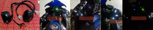 Saklar glowing LED Pulsar PNP CBR250R CBU Thai 2011-2013. Tambahkan eksklusivitas pada dashboard CBR250R Anda tanpa merusak kabel body original motor! PRICE: Rp380.000,- per set (sepasang kiri-kanan).