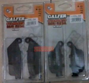 Kanvas Rem Galfer CBR250R & Inazuma250 (depan&belakang). PNP 100% gan!