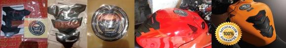 Tankpad karet + fuelpad resin CBR original AHM. PNP untuk Honda CBR150&250R. PRICE: Rp370.000,- FULL SET