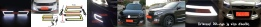LED DRL COB mobil Hypersport Letter U. Tampilan depan mobil Anda semakin mewah, modis, dan safety (more visible). PRICE: ONLY Rp210.000 per set (sepasang).