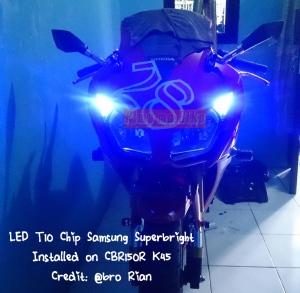 LED T10 Biru_installed CBR 150R K45