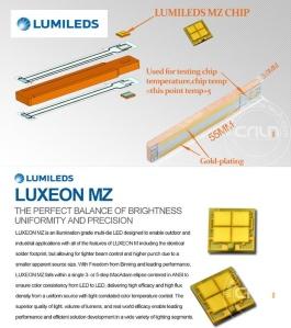 Penjelasan singkat tentang Chip Luxeon MZ by Lumiled (Philips). Lampu LED high-tech terkini gan!